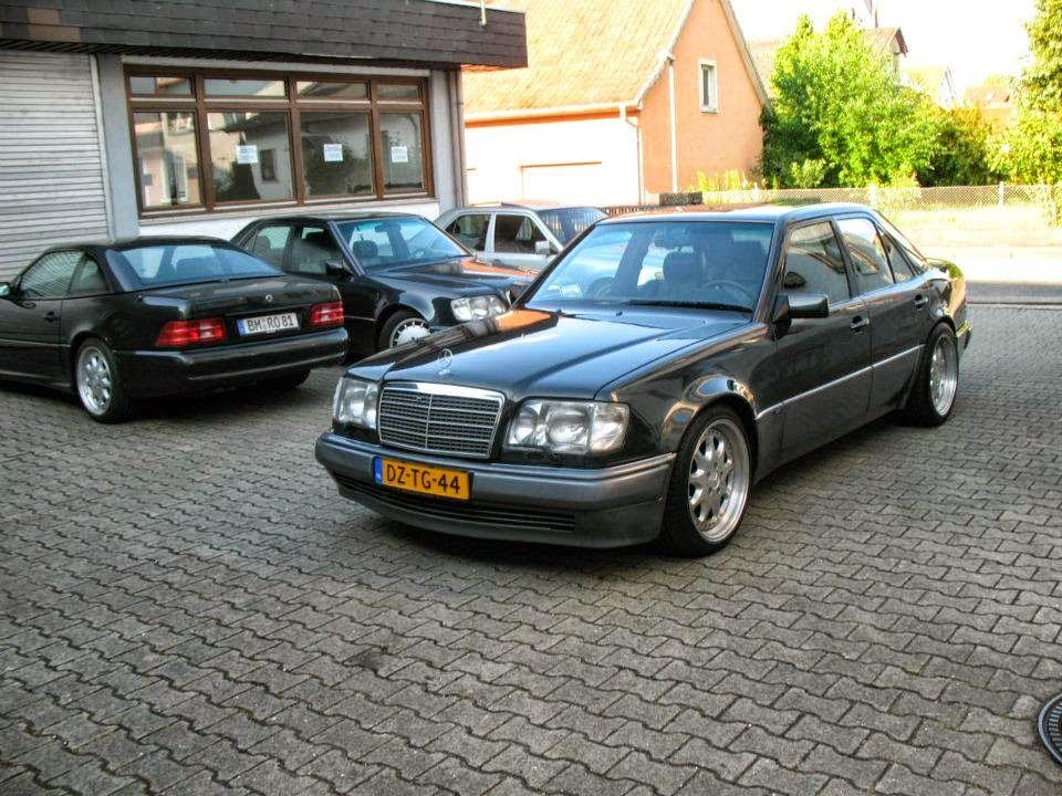 BRABUS E73 V12 Based On Mercedes Benz E500 W124