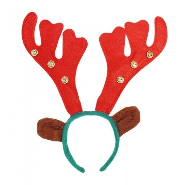 Eurowrap Christmas Reindeer Antler Headband 246 Liked On Polyvore Featuring Accessories Hair