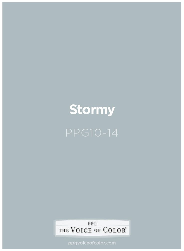 Stormy Ppg10 14 Summer Beach House Color Inspiration Paint