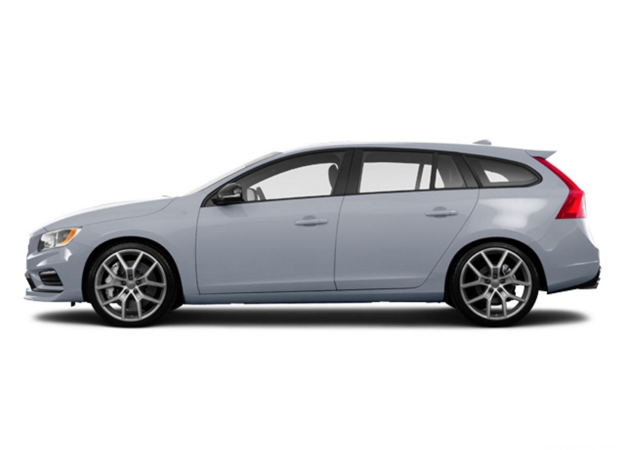 For sale 2016 volvo v60 t6 polestar wagon bright silver exterior