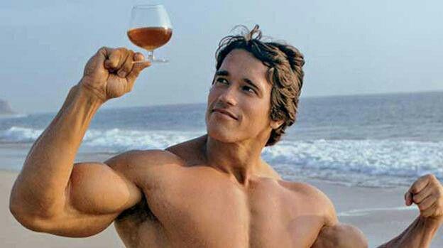 Znalezione obrazy dla zapytania arnold alkohol