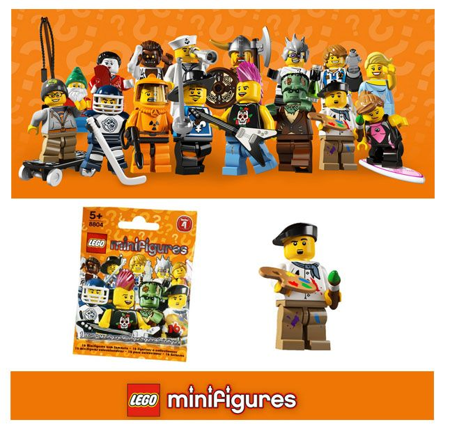 Just In Lego Minifigures Series 4 Blind Bag Lego Minifigures Mini Figures Blind Bags
