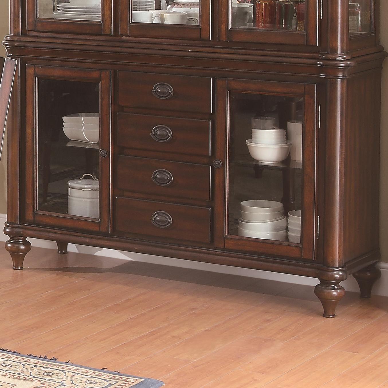 Anson Buffet Only By Coaster Nebraska Furniture Mart Furniture China Cabinet