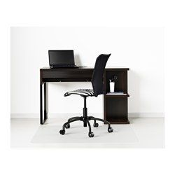 Genial MICKE Desk With Integrated Storage   Black Brown   IKEA Desk For Kyles Room