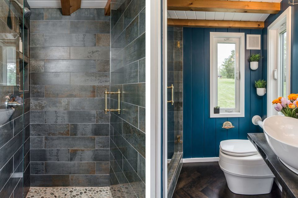 33 Small Shower Ideas For Tiny Homes And Teensy Bathrooms In 2020 Tiny Bathrooms Small Bathroom With Shower Bathroom Shower Stalls
