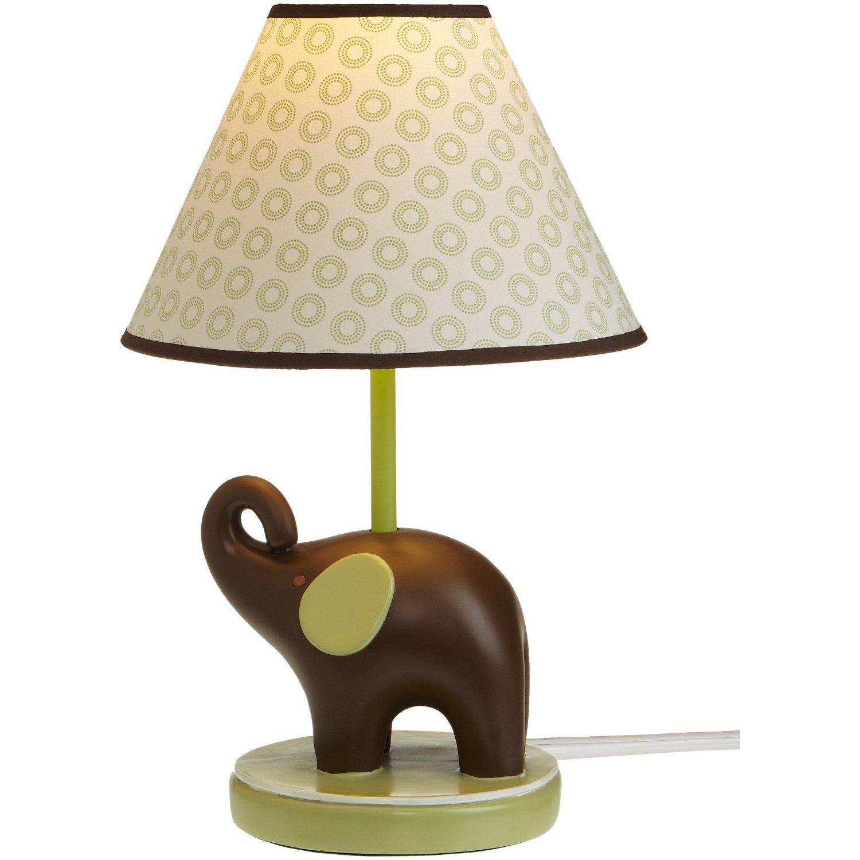 Green Elephant Lamp (With images) | Elephant lamp base ...