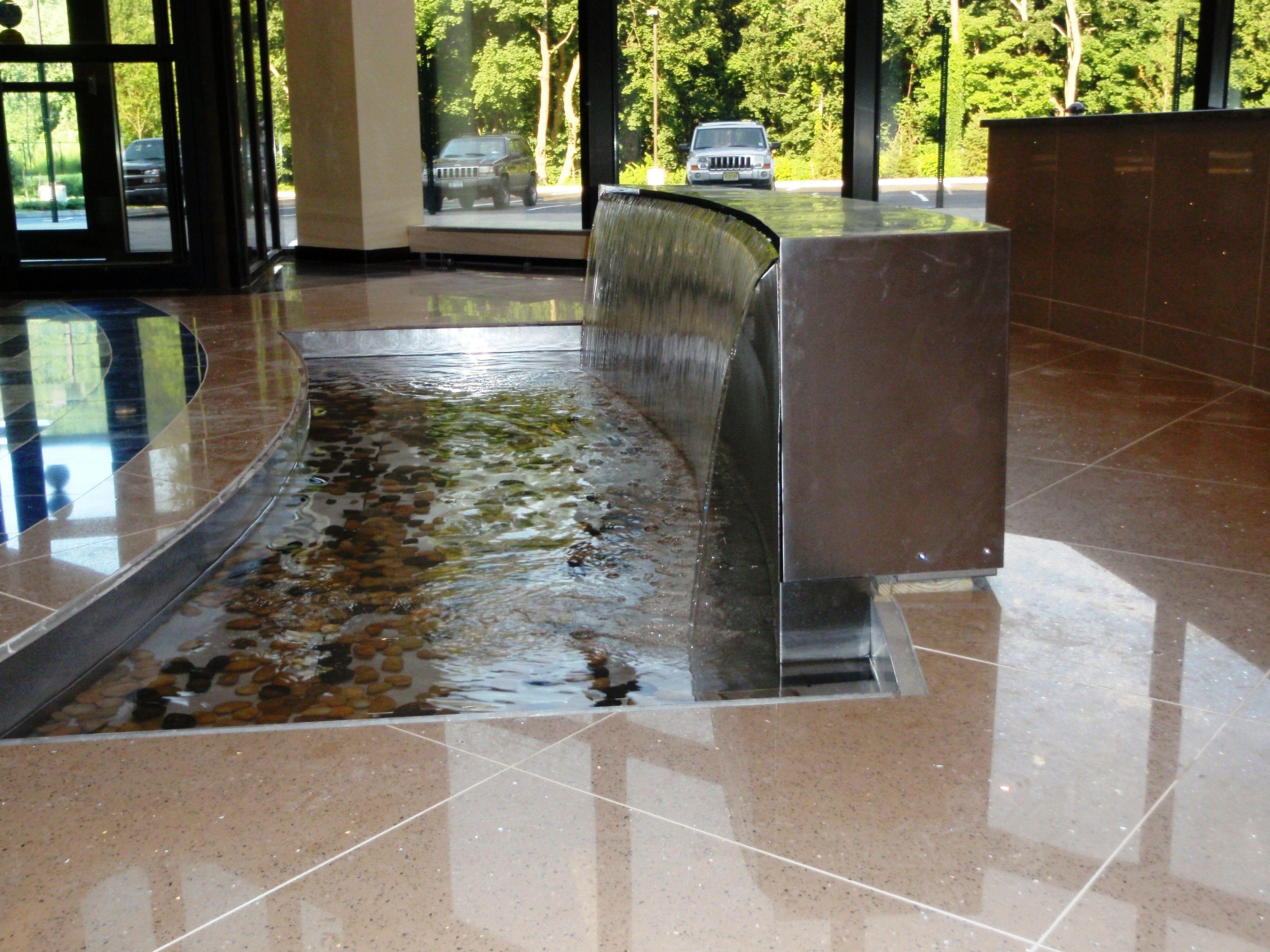 Custom Indoor Water Feature By Bluworld Www Bluworldusa Com