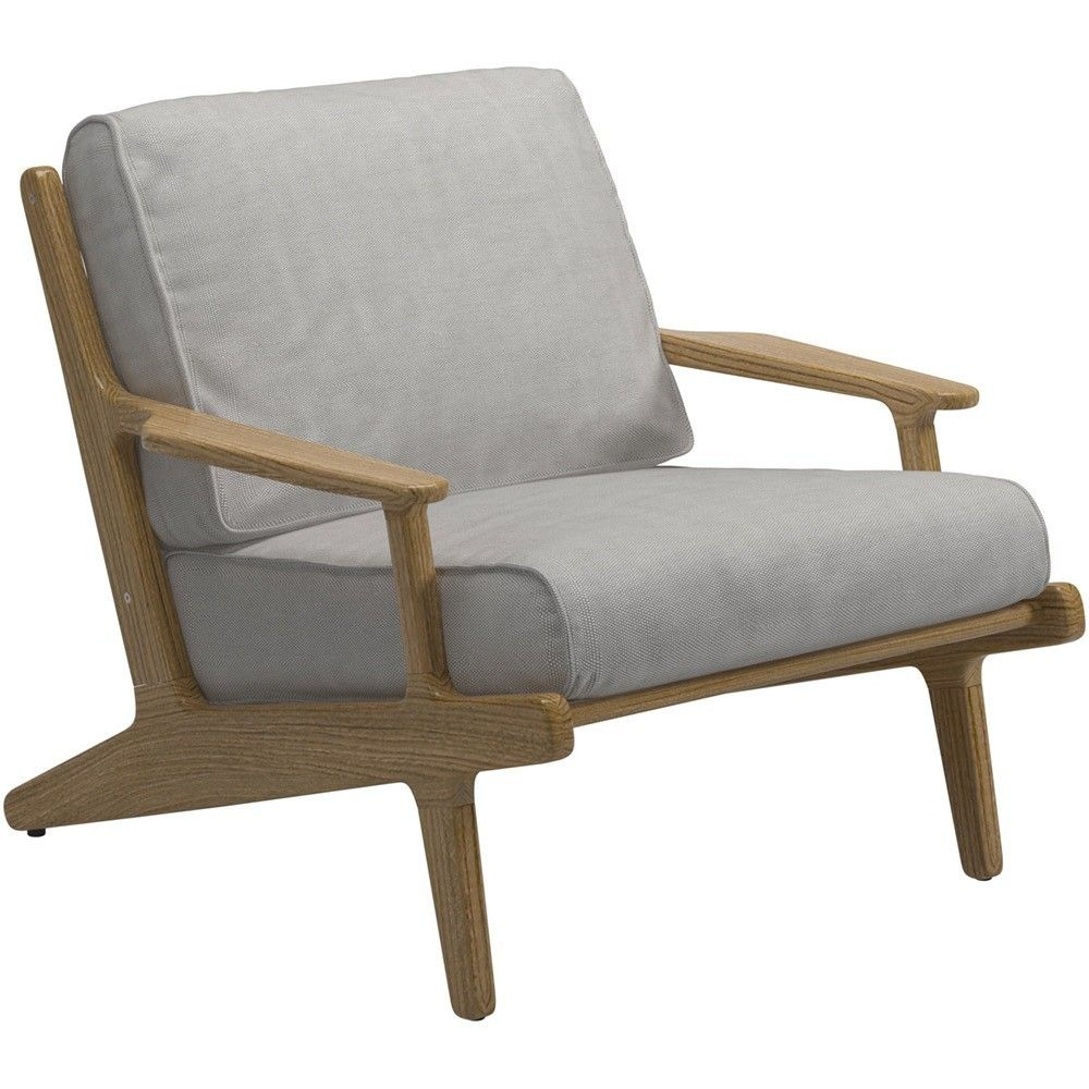 Gloster Bay Teak Outdoor Lounge Chair | 7912 | £1,148.00