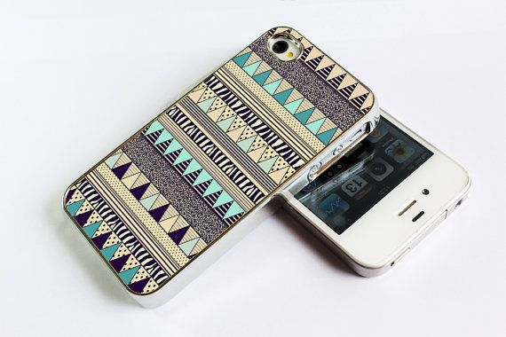 iPhone 4 Case  iPhone4s Case Aztec yellow brown by Antra on Etsy, $15.99