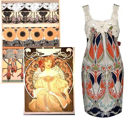 Posts About Art Nouveau Fashion On Sherhaps Art Nouveau Fashion Art Nouveau Necklaces Art Nouveau