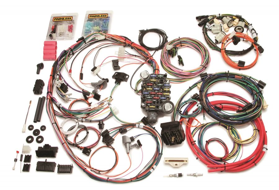 26 Circuit Direct Fit 1969 Camaro Harness By Painless Performance Parts And Accessories Chevelle For Sale Chevelle