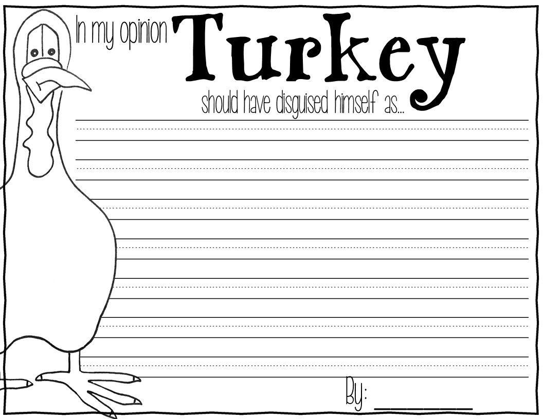 Turkey Trouble Thanksgiving Activities