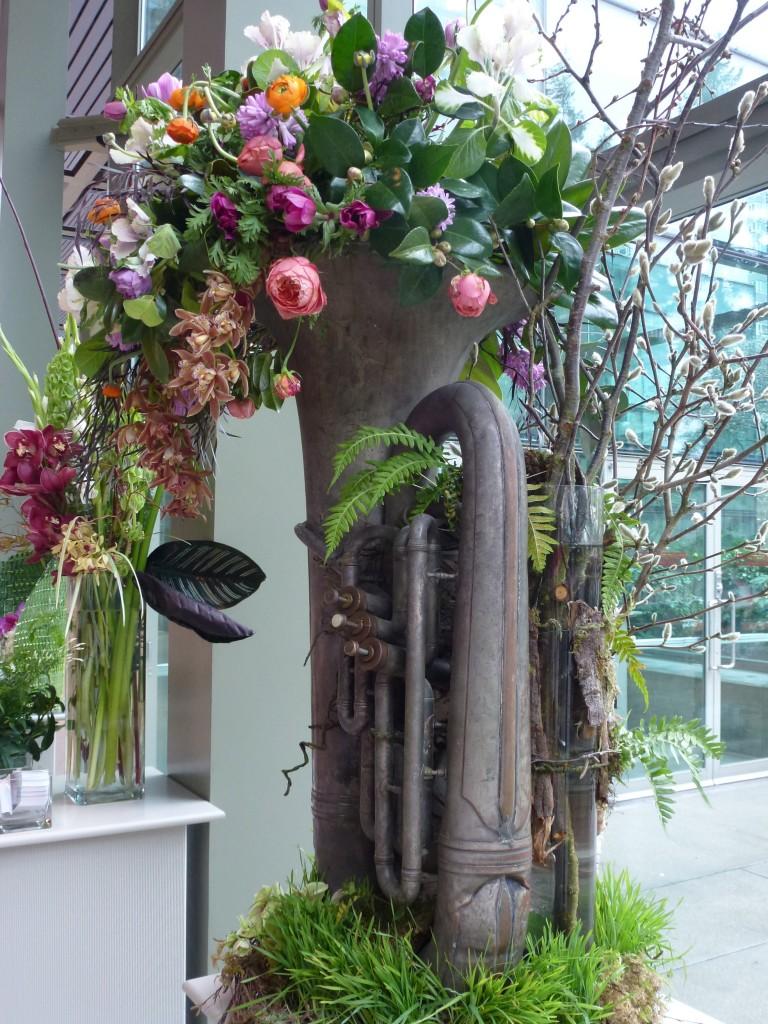 musical instrument as a planter outdoors pinterest musical