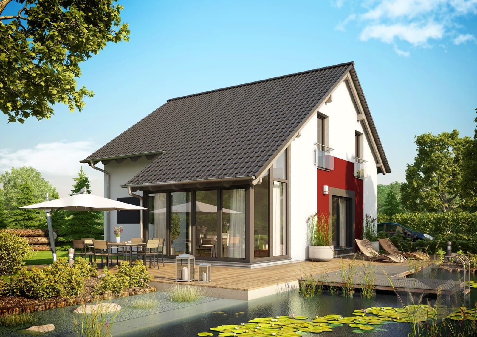 Das Haus Top von Büdenbender Hausbau hat 7 Zimmer und eine