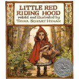 """An illustrated edition of """"Little Red Riding Hood"""" was banned in two California school districts in 1989. Following the Little Red-Cap story from Grimm's Fairy Tales, the book shows the heroine taking food and wine to her grandmother. The school districts cited concerns about the use of alcohol in the story."""