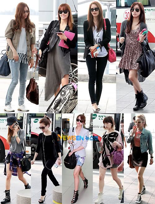 Seohyun 39 S Top Jessica 39 S Jacket Taeyeon 39 S Top Tiffany 39 S Hair And Bag And Yuri 39 S Boots 3