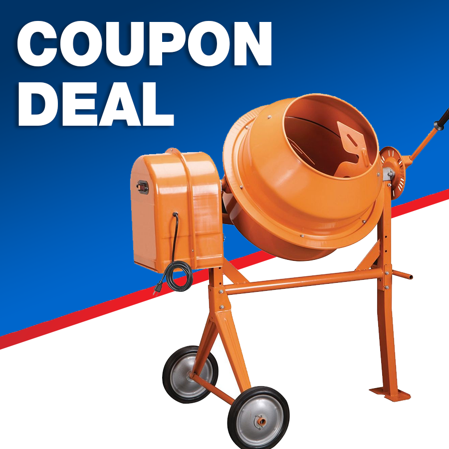 Buy The Central Machinery Cement Mixer For 174 99 Cement Mixers Harbor Freight Tools Cement