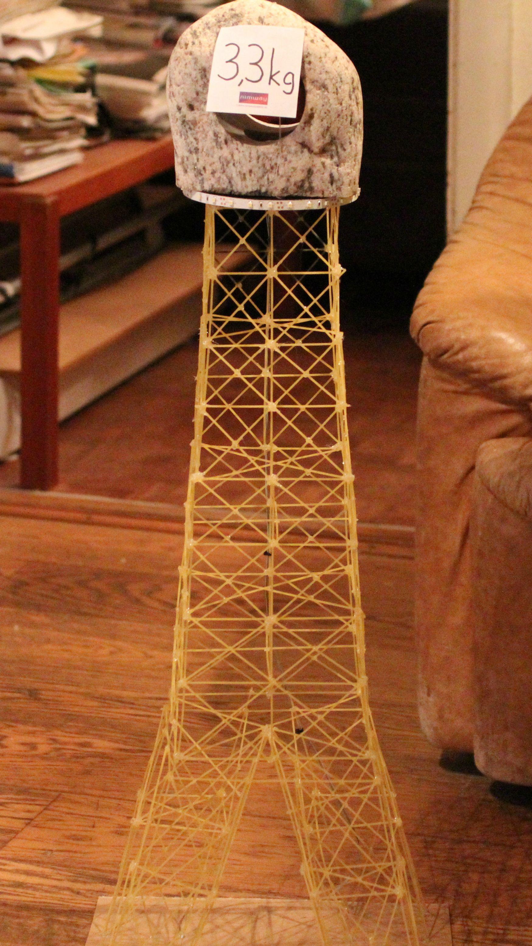 Structural Integrity Of A Spaghetti Eiffel Tower Spaghetti Tower