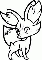Pokemon Coloring Pages Fennekin You'll Love