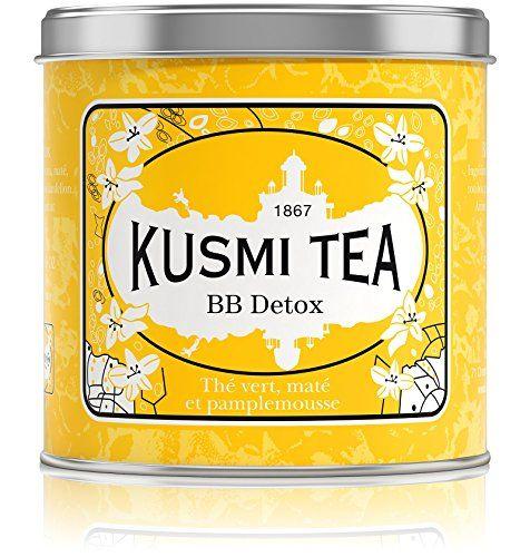 Kusmi Tea - BB Detox - Boîte métal 250g Kusmi Tea - Paris http://www.amazon.fr/dp/B00C86WMR8/ref=cm_sw_r_pi_dp_iPi2wb1DB6D65