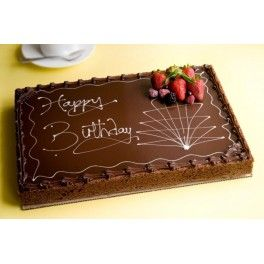 chocolate slab cake decorations - Google Search | Birthday ...