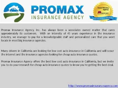 Low Cost Auto Insurance In California Youtube Low Cost Auto