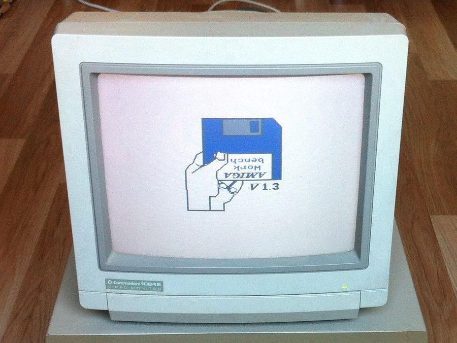 Commodore Monitor 1084s P1 Kindheitserinnerungen