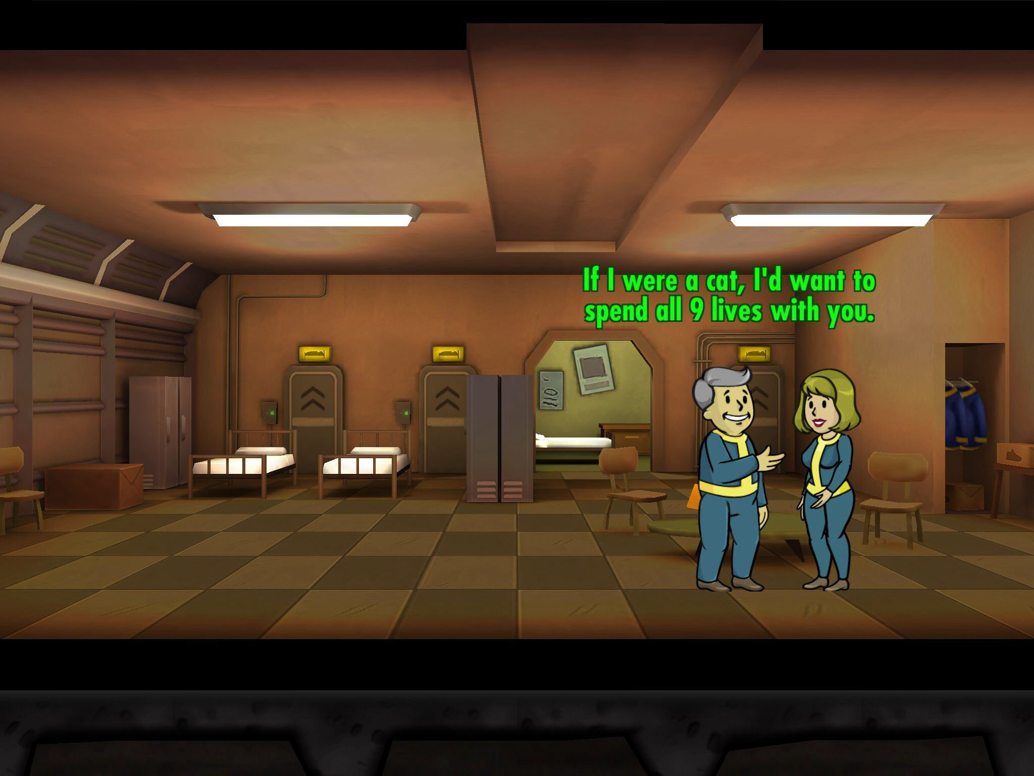fallout shelter dating