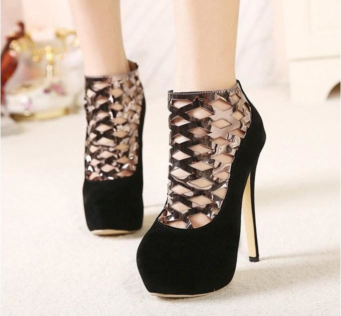 Ankle Boots New Style Women Pumps Femininas High Heels Shoes