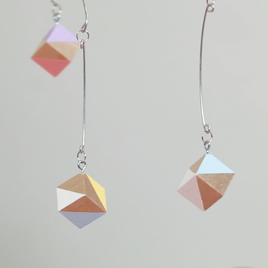 Photo of This Colorful Geometric Mobile Adds Charm To Any Room