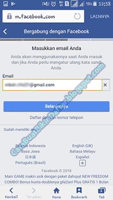 Tahukah Kamu Kalau Membuat Facebook Baru Lebih Enak Pakai Email Ketimbang Nomor Hp Baca Lebih Lanjut Untuk Mengetahui Informasi Cara Facebook Tahu Pengetahuan