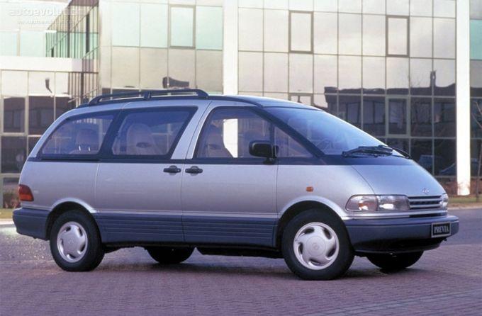 1994 97 Toyota Previa Le S C Alltrac Toyota Previa Toyota Pony Car