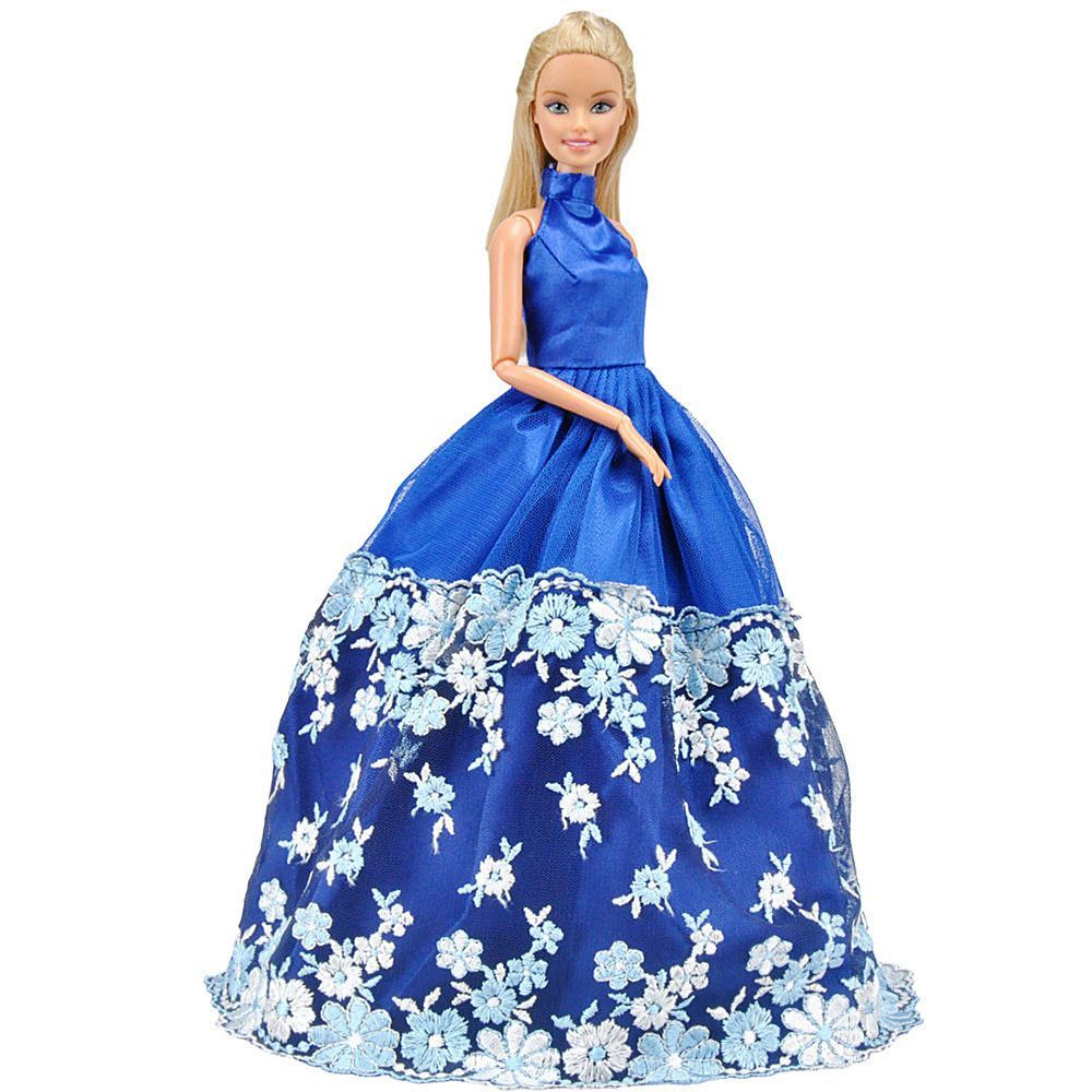 E-TING Fashion Dolls Clothes Prom Dresses Evening Wedding Party Gown ...