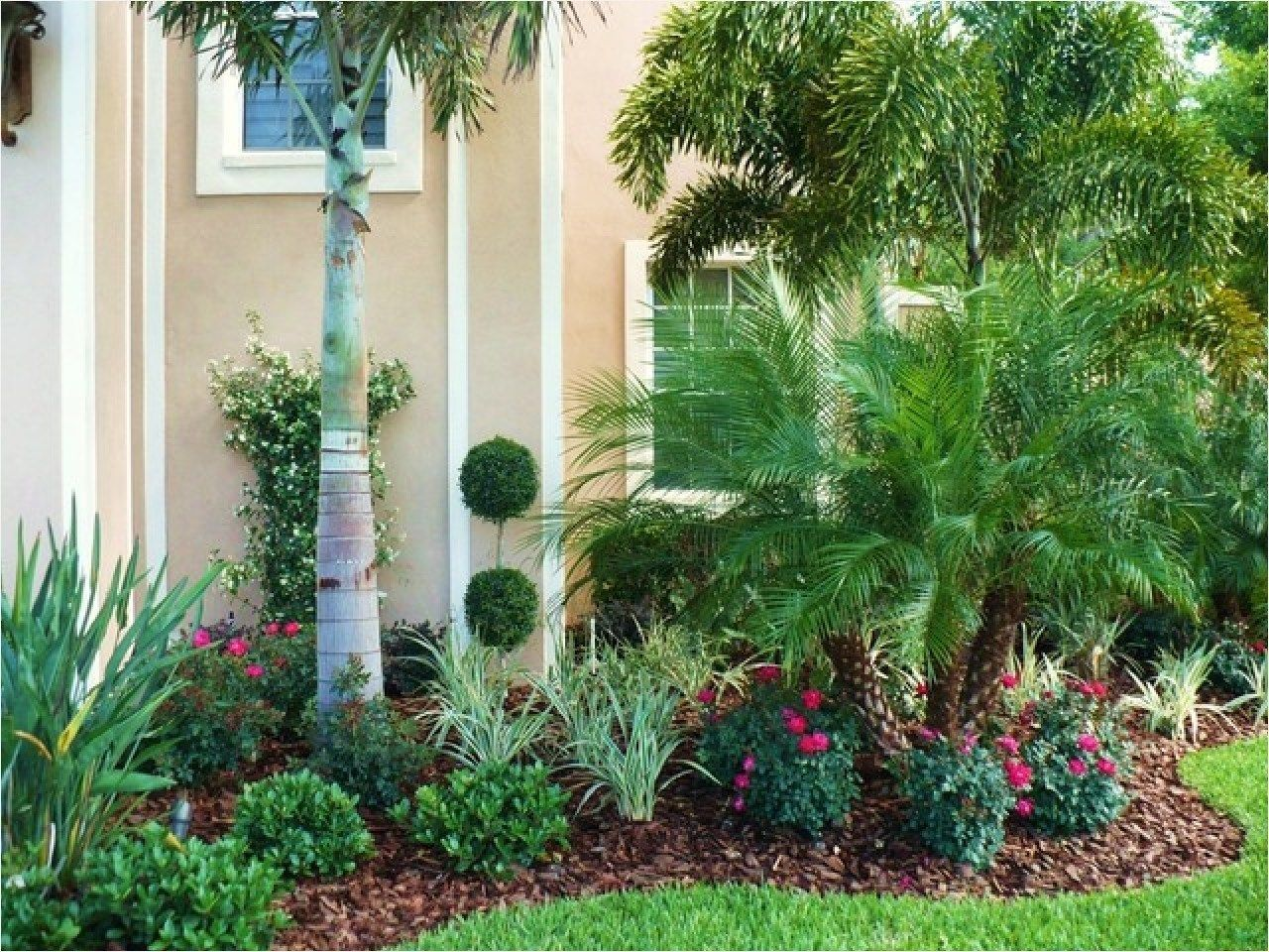 Tropical Garden Landscaping 54 Decor Design Front Yard Ideas Simple