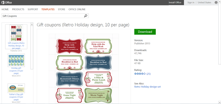 Simplify Christmas Events with Free Microsoft Office Templates ...