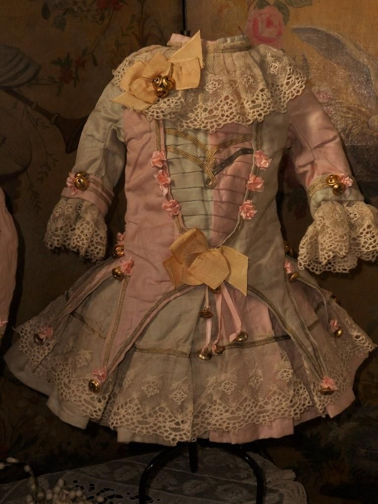 ~~~Stunning French Silk Bebe Party Costume ~~~