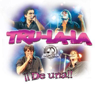 """Trulala """"¡¡De una!!""""... año 2008, con las voces de David, Iván y César."""