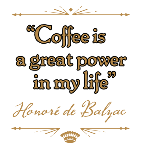 Coffee is a great power in my life. ~Honore de Balzac  #life #power #coffee #drinks #quotes