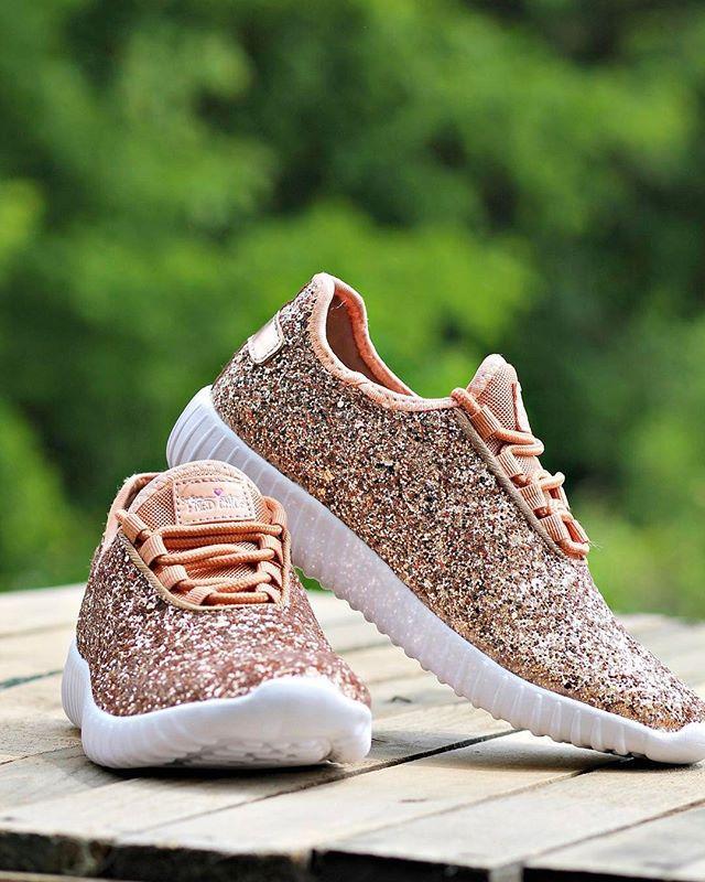 Glitter Sneakers - Glitter Tennis Shoes