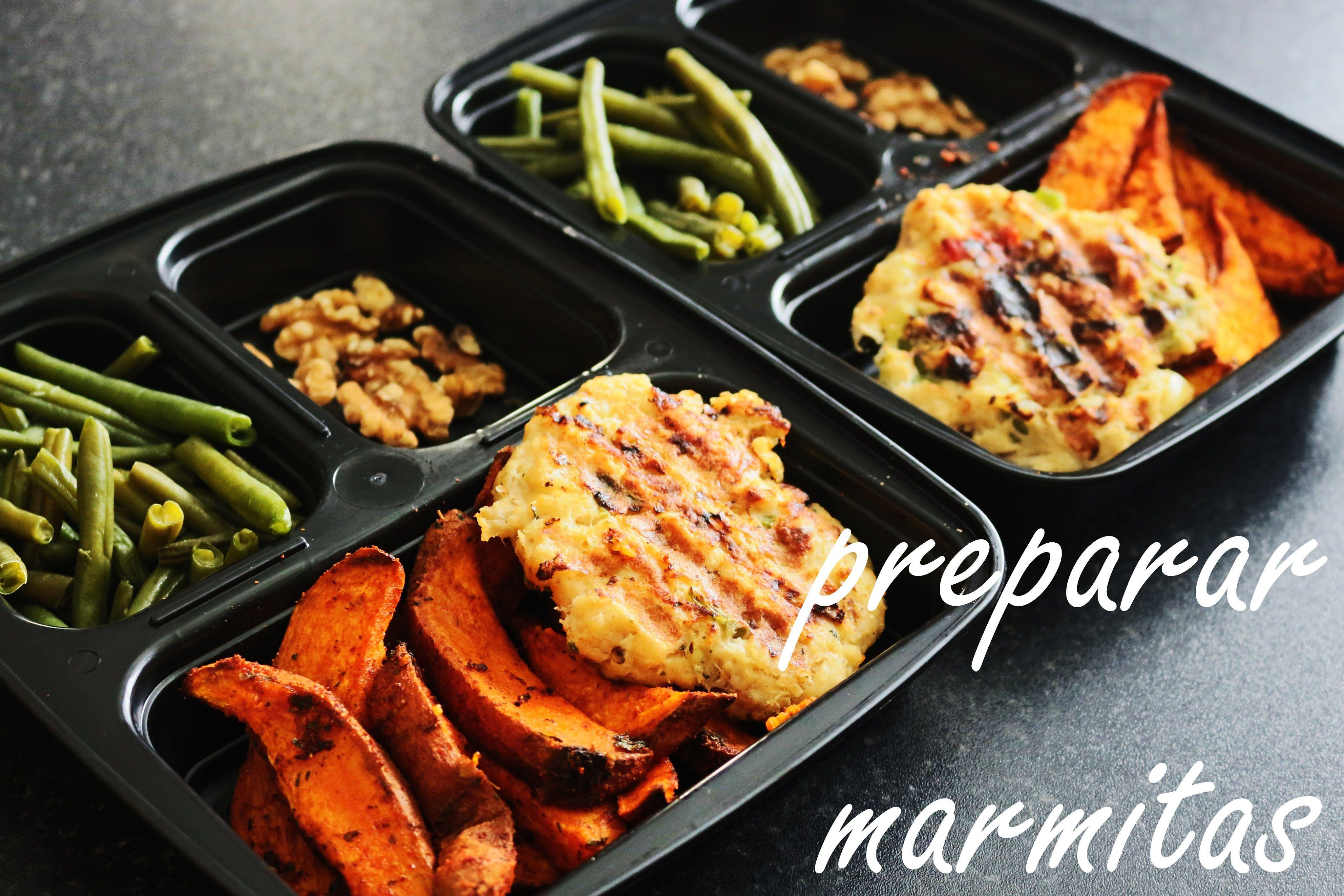 173. Preparar Marmitas Saudáveis: Hambúrguer De Pescada | Meal Prep