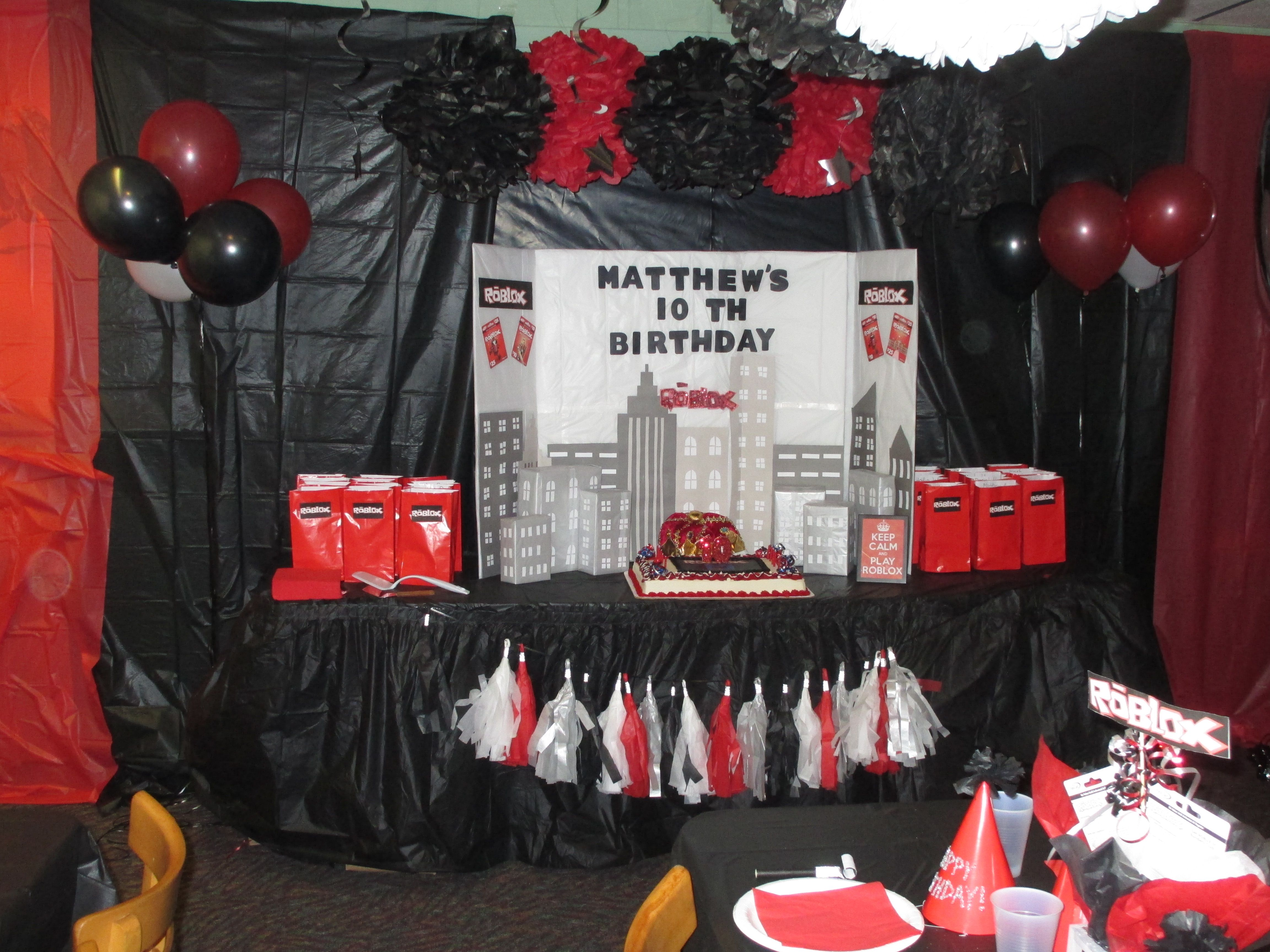 66 best Roblox Birthday Party Ideas images on Pinterest | Birthday ...