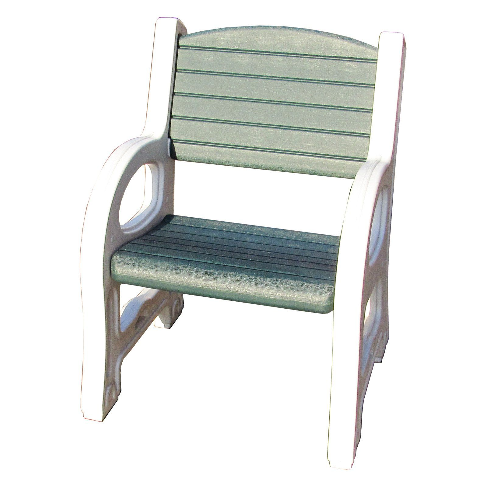 Wondrous Outdoor Duramax Building Products White And Green Plastic Machost Co Dining Chair Design Ideas Machostcouk
