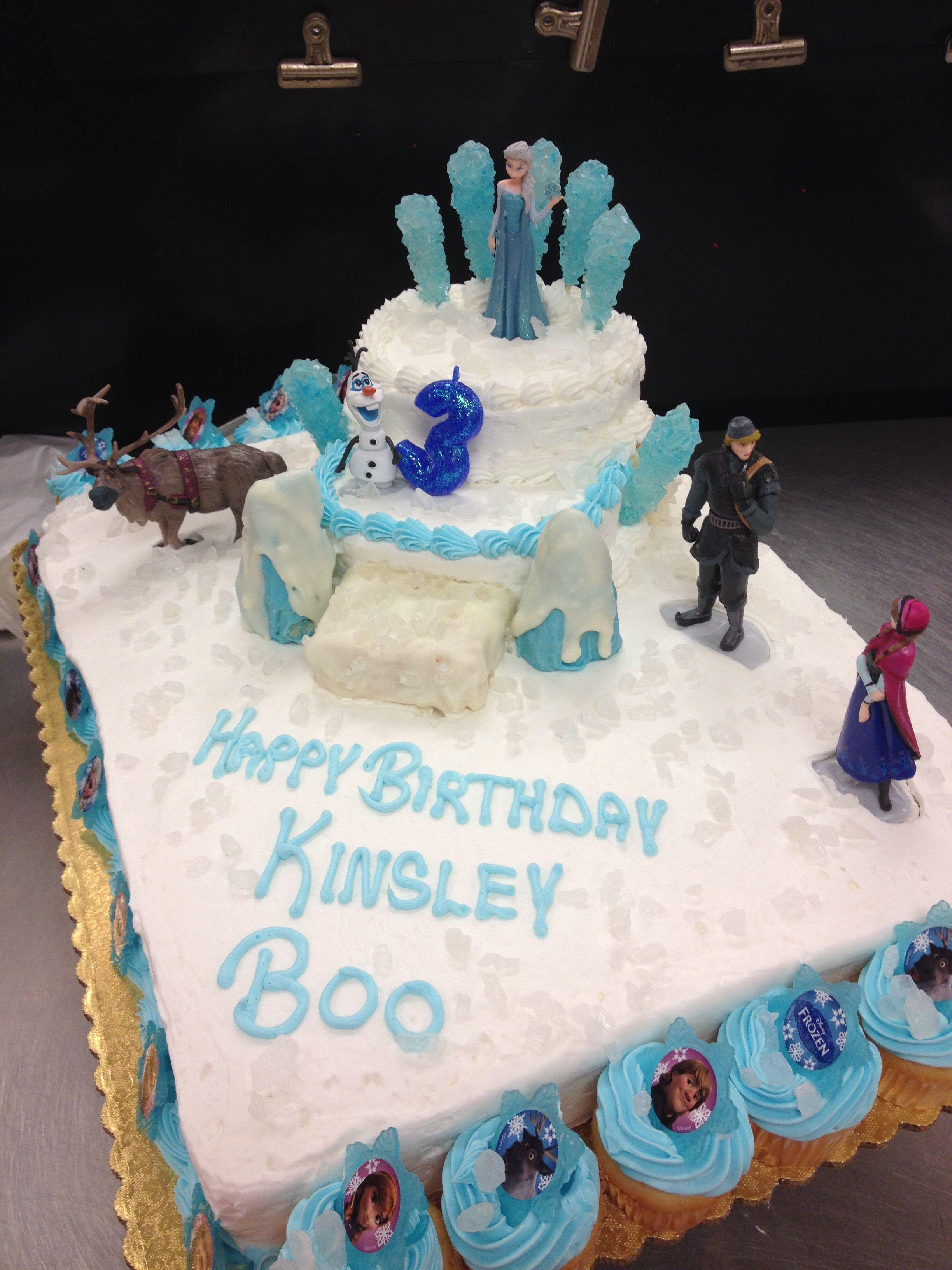 Frozen cake created by mary diaz of winn dixie frozen cake