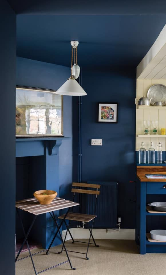Best Farrow And Ball's Bold And Dramatic Shade Stiffkey Blue 400 x 300