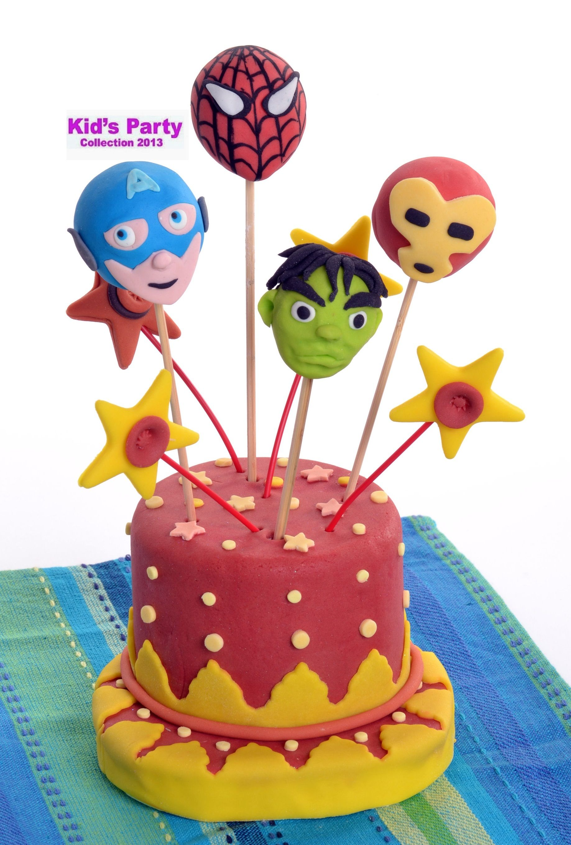 THE AVENGERS cake pops CAKE POPS Pinterest Avenger cake Cake