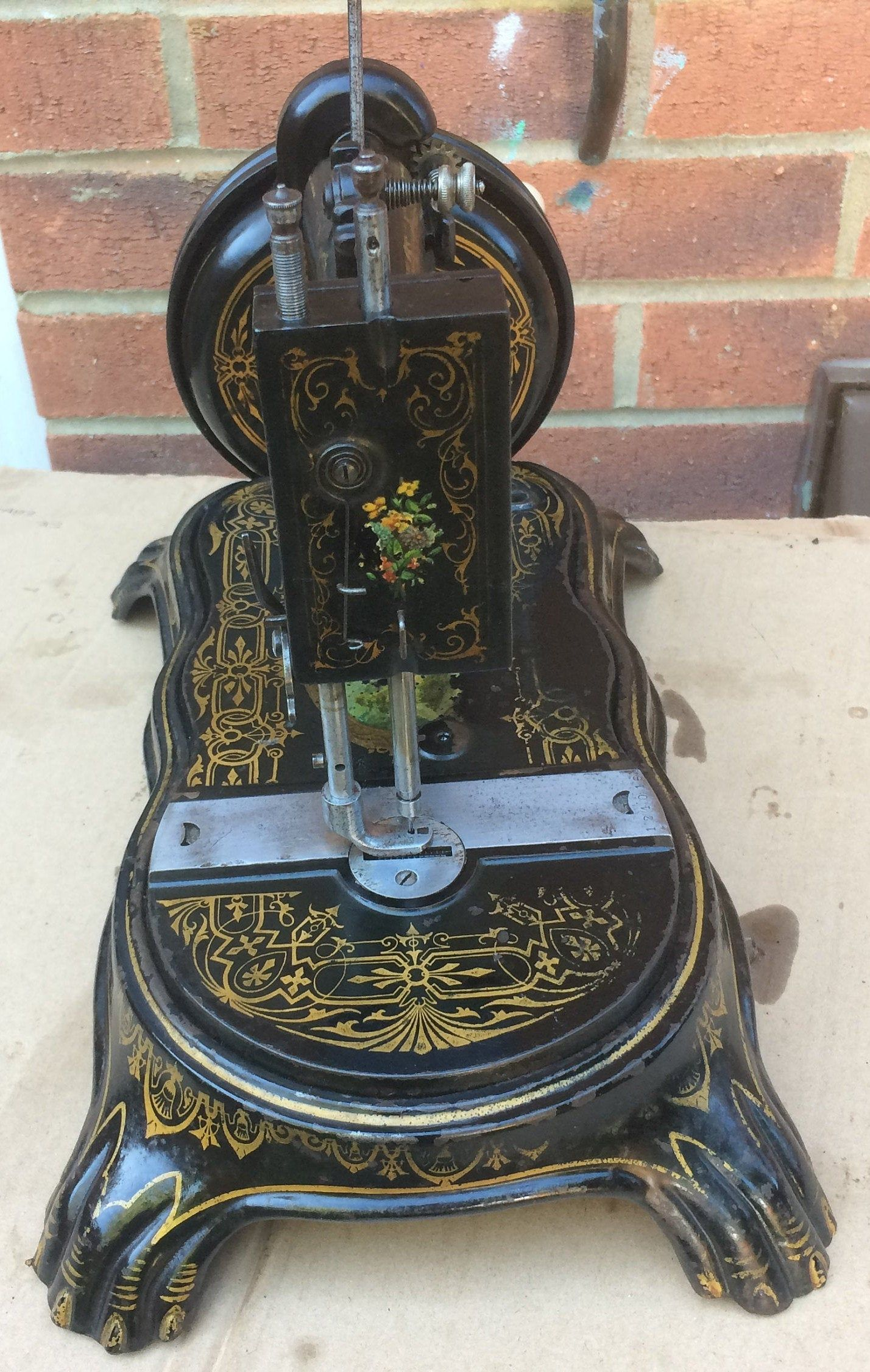 Antique C1890 American National Sewing Machine Vintage Collectable Sewing Machine Vintage Sewing Parts B Antique Sewing Machines Old Sewing Machines Antiques