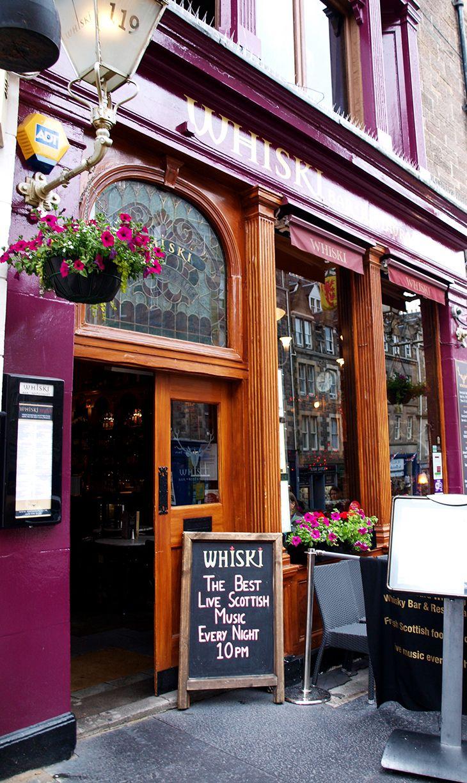Whiski Bar & Restaurant, Edinburgh, Scotland. | Edinburgh ...