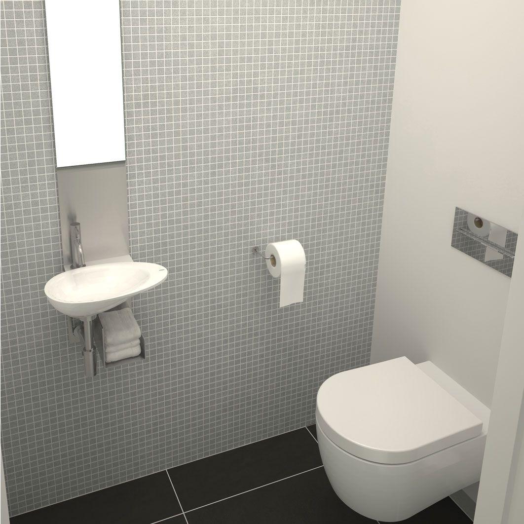 Clou first toilet en fontein wit idee n voor in huis pinterest badkamer inspiratie - Washand ontwerp voor wc ...