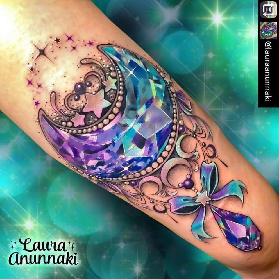 Galexy Girl Swinging Tattoo: Pin By Nicky Bennett On Tats