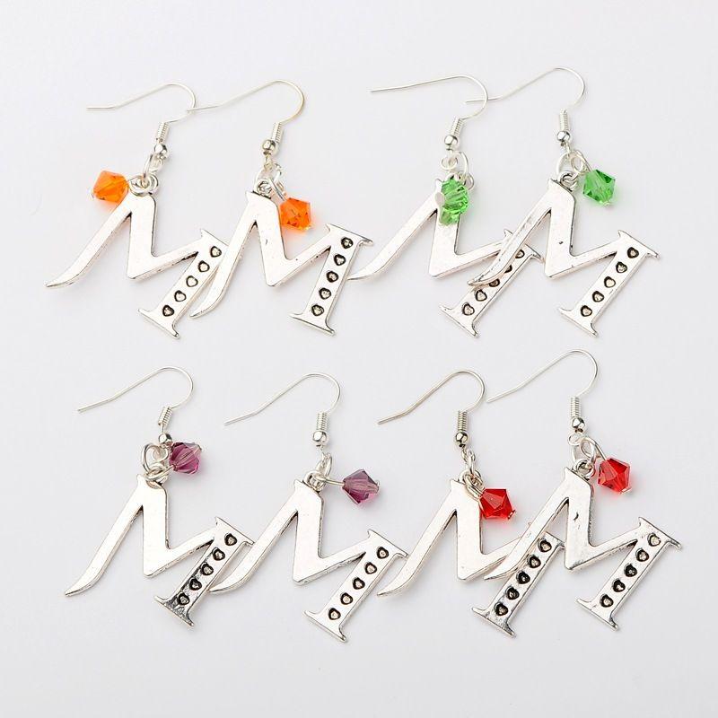 PandaHall Jewelry—Tibetan Style Alloy Alphabet M... | PandaHall Beads Jewelry Blog